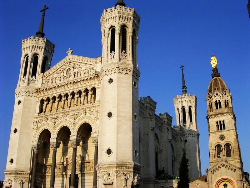 La Basílica Notre Dame de Fourvière