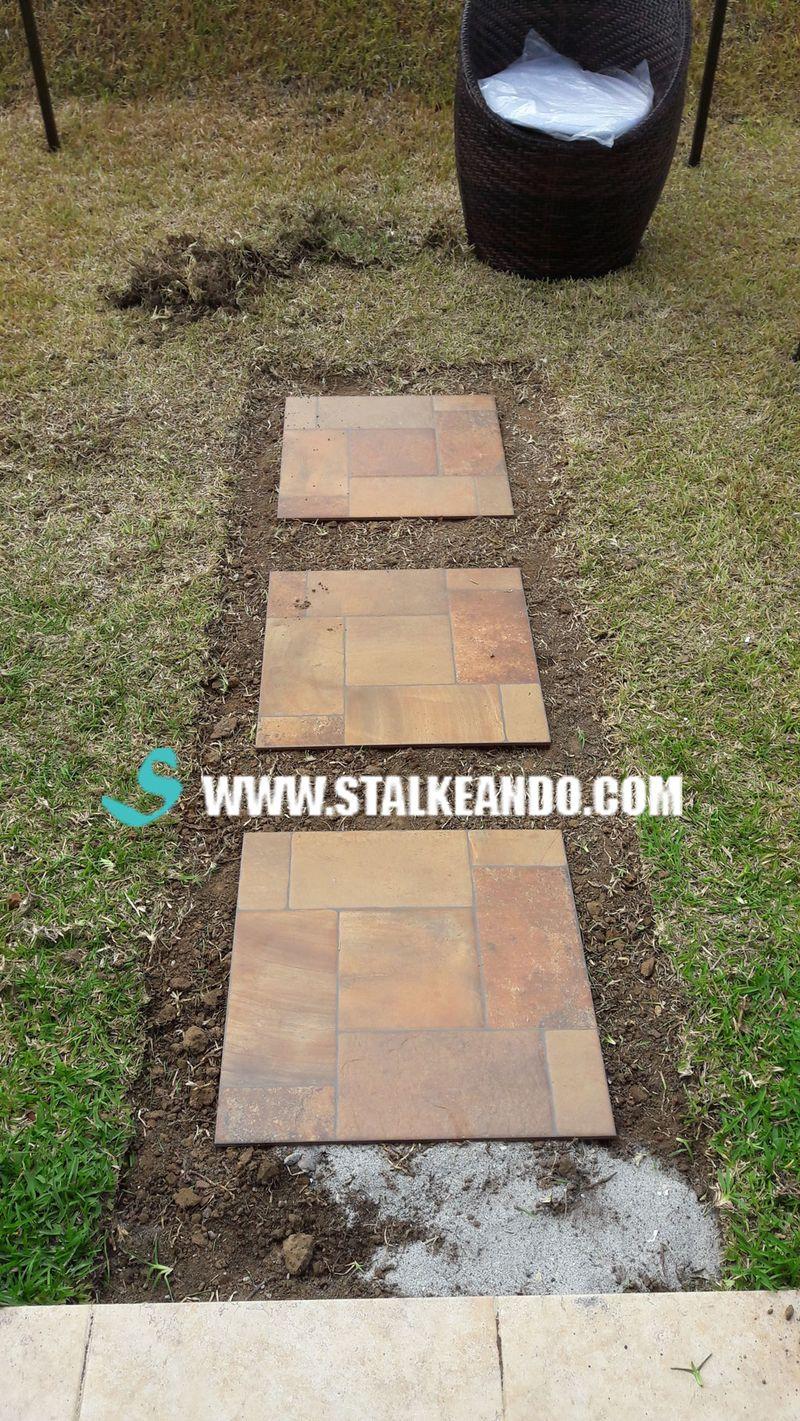 Stalkeando camino de piedras para tu jard n o patio for Piedras para patios exteriores