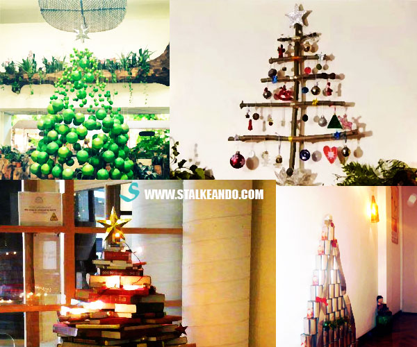 5 Arbolitos creativos para esta navidad
