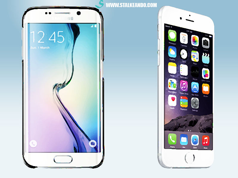 ¿Samsung Galaxy  o iPhone?