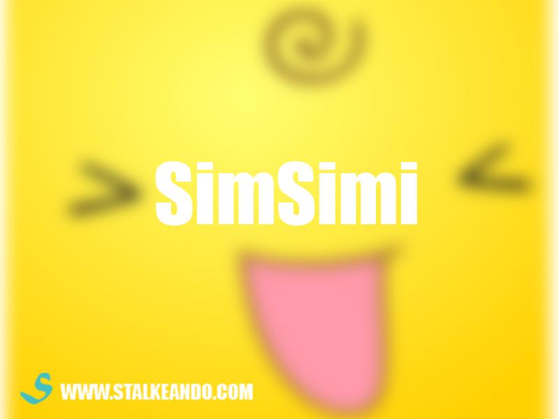 Simsimi ¿Es una aplicación peligrosa?