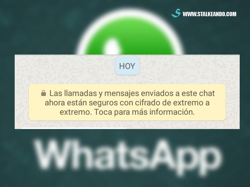 Cifrado de extremo a extremo de Whatsapp, ¿Qué es?
