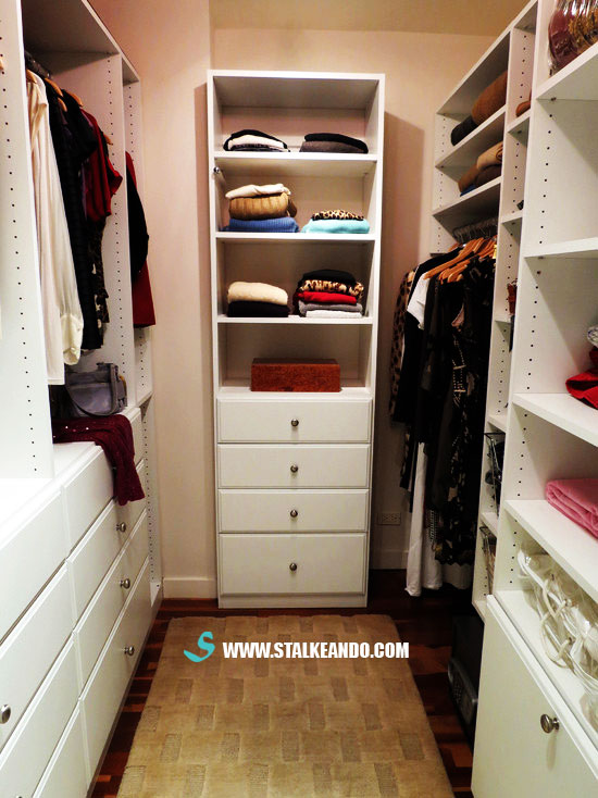 Stalkeando para la rec mara armario closet o vestidor for Kitchen design 9x7